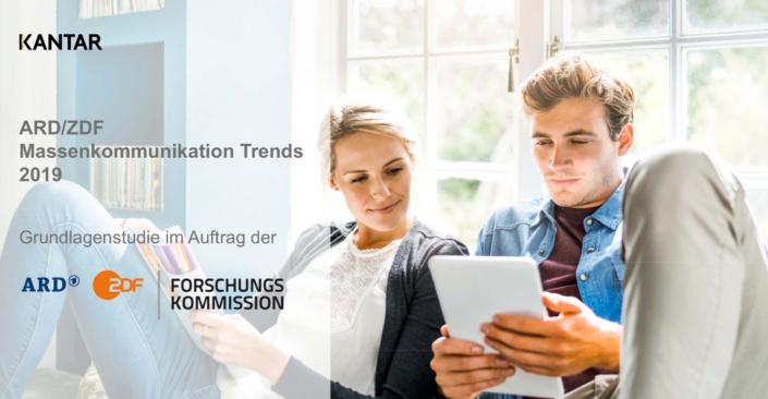 Eine Auswertung der ARD/ZDF-Massenkommunikation Trends 2019