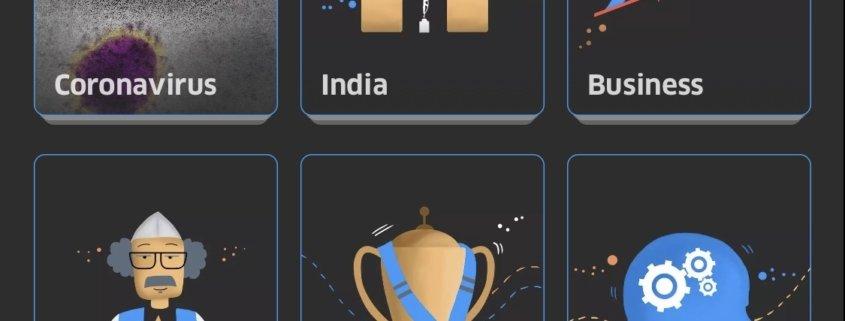 Screenshot von Inshorts